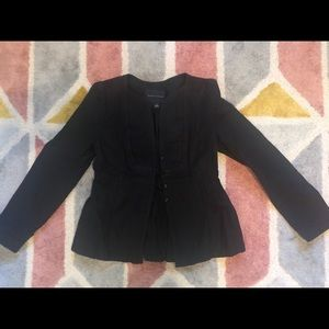 Banana republic black jacket size 0